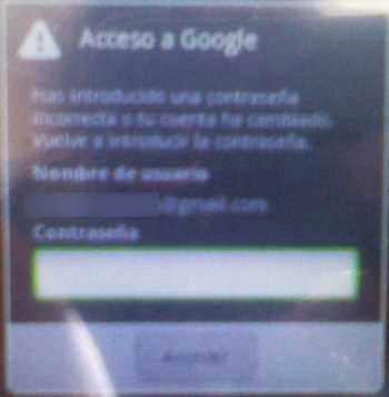 Conectar Gmail con Android y VirginMobile Cómo se hace Seguridad