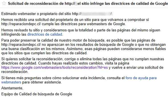 Solución al Aviso de Herramientas para webmasters de Google sobre detección de enlaces no naturales al sitio Cómo se hace Recomendamos