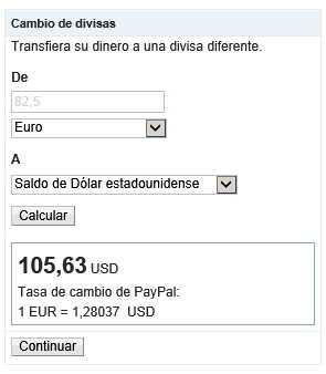 Crear y cambiar divisas en Paypal Cómo se hace