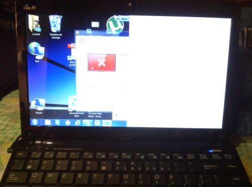 Netbook Asus se ve media pantalla Preguntas y Respuestas